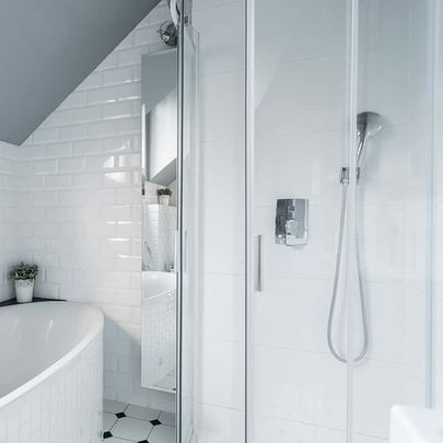 Acrylic bath and wall system